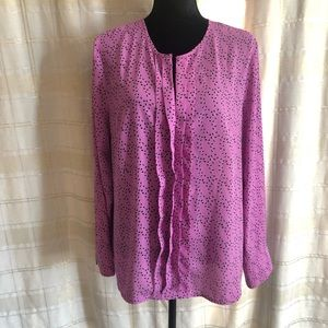 Banana Republic Women's Long Sleeve Top, Size L
